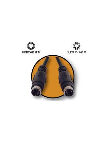 CABLE KABLEX SVHS 4P MACHO /
