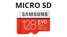 Tarjetas de memoria Micro SD
